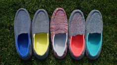 The World's First Mass Market 3D Knitted Shoe Heads to Kickstarter