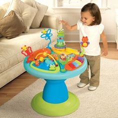 Bright Starts - Doodle Bugs Around We Go Baby Activity Station
