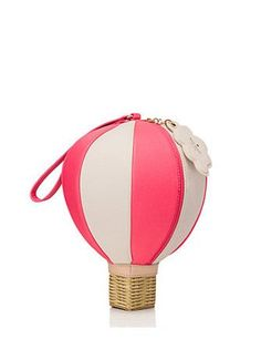 MATERIAL pebbled leather with smooth cowhide trim capital kate jacquard lining FEATURES handheld clutch with zipper closure cloud keyfob wristelet gold foil printed kate spade new york signature style # DETAILS x x Color: caberet pink/pebble Unique Purses, Unique Bags, Kate Spade Clutch, Kate Spade Pink, Pink Handbags, Kate Spade Handbags, Pink Leather, Pebbled Leather, Novelty Bags
