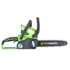 GreenWorks G-MAX 14-Inch Chainsaw, Compatible Battery Configuration Models, (Tool Only:  20292) (2 AH:  20262)  (4 AH:  20202)