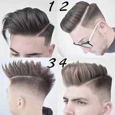 "Páči sa mi to: 9,106, komentáre: 162 – MEN'S HAIR STYLES & FASHION  (@menshairworld) na Instagrame: ""1, 2, 3 or 4?! …"""
