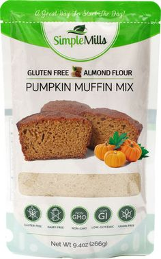 Simple Mills Pumpkin Almond Flour Muffin Mix - Not sure what coconut nectar is...but everything else is FMD