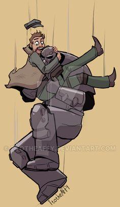 Power Armor by TtotheAFFY.deviantart.com on @DeviantArt