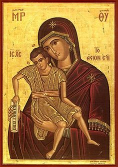 virgin mary religious iconography eastern orthodox