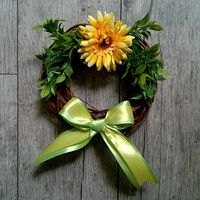 Zboží prodejce Darinadekor / Zboží   Fler.cz Grapevine Wreath, Grape Vines, Floral Wreath, Wreaths, Home Decor, Decoration Home, Door Wreaths, Room Decor, Vineyard Vines