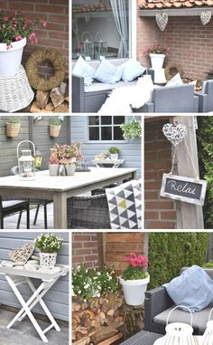 The Great Outdoor Living Event Summer Garden Tour - Join 9 talented Home Decor Bloggers for a look at their gorgeous gardens and outdoor spaces. You'll find heaps of inspiration and lots of useful tips to make your own garden into a relaxing paradise :)