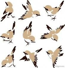 Image result for painted pictures of birds