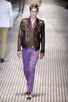 Gucci Menswear SS07 catwalk video