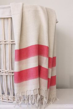 obsessed with these towels.  Turkish towels found on Etsy.  I would love 2 in blue and 2 in grey.