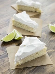 Easy Vegan Lime Cake with Whipped Coconut Cream