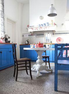Casinha colorida: 41 cozinhas que adorei recentemente