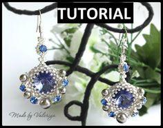 Beading pattern beading tutorial seed bead by JewelryMadeByValeria