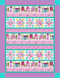 Around Town Quilt 2 by