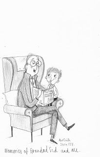 Memories of Grandad and me: by  Alex T. Smith