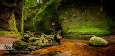 No.226 - Devil - Pinned by Mak Khalaf Number 226 of my 365 photo challenge - A long exposure HDR stitched panorama of the Devil's Pulpit in Finnich Glen near Stirling Scotland. This is a 15 shot image. A 5 shot portrait orientation panorama with each of those images being a 3 shot HDR for detail. This was a very tricky place to get to. No real directions or signs anywhere and in fact lots of barbed wire fences to climb over. Then a very steep flight of old stone steps that were all at…