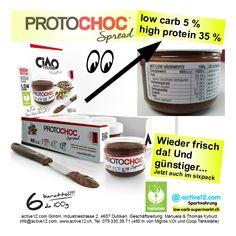 Nutella-Lust? ■ Low carb 5 % ■ high protein 35 % ► PROTOCHOC Spread Ciaocarb ist wieder da! Günstiger und jetzt auch im sixpack. #lowcarb #lowcarbs #lowcarbschweiz #lowcarbswitzerland #lowcarblife #lowcarbliving #lowcarbfood #lowcarbdiet #lowcarbhighfat #highprotein #hoherProteingehalt #muskelaufbau #bodybuilding #bodybuildingschweiz #abnehmen #abnehmenschweiz #cheatclean #cheat #fitness #fitnessschweiz #active12 #Nutella #Süssigkeit #süss #sweet #Schokoaufstrich #Ciaocarb #Spread #PROTOCHOC