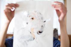 #Papierschnitt-Künstlerin in #Kyoto