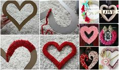 Best 40+ Fabulous Valentine's Day Wreaths DIY Tutorials | www.FabArtDIY.com