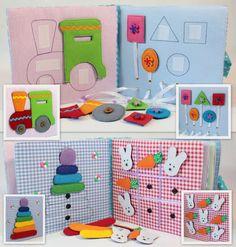Children's Quiet Book Busy Book Eco friendly Toddler por MiniMoms