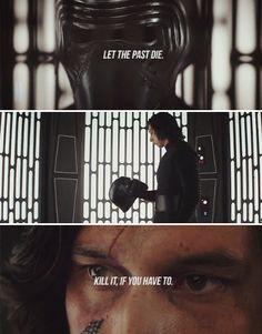 """Let the past die."" Kill him, if necessary.#StarWars #TheLastJedi"