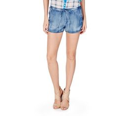 Justfab Shorts Racer Shorts ($25) ❤ liked on Polyvore featuring shorts, apparel, apparel & accessories, blue, stretch waist shorts, elastic waist shorts, elastic waistband shorts, justfab and blue shorts