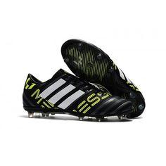 buy online 25551 1eb6e Adidas Messi Nemeziz 17.1 FG Fotballsko Svart Hvit Gul