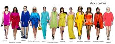 Shock colour SS13 / aniazajac.com Colour, Fashion Trends, Color, Colors, Trendy Fashion
