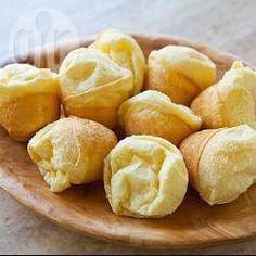 Foto de receta: Pancitos de queso brasileros (pao de queijo)