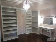 dressing room/closet...I need to do this in one of my spare rooms in my next house!
