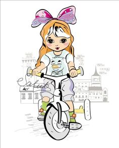 Girl bicycle with town vector - https://gooloc.com/girl-bicycle-with-town-vector/?utm_source=PN&utm_medium=gooloc77%40gmail.com&utm_campaign=SNAP%2Bfrom%2BGooLoc
