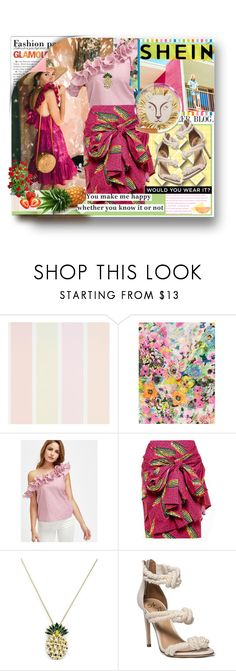 """Pink anthem"" by maryvolanaki on Polyvore featuring Pull&Bear, Stella Jean, Anton Heunis, Chanel, Charlotte Olympia, Lilly Pulitzer, contest, topsets, topset and shein"