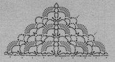 Schéma ou diagramme pour crochet Modèle Châle