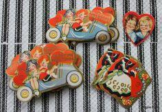 Vintage Valentine's Day Seals/Stickers