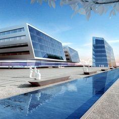 Projekte - GSP Architekten Marina Bay Sands, Skyscraper, Multi Story Building, Architects, Projects, Skyscrapers