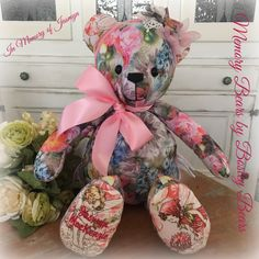 Memory Bears, First Love, Teddy Bear, Toys, Animals, Animales, First Crush, Animaux, Animais
