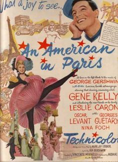 An American in Paris (Gene Kelly and Leslie Caron) (1951)