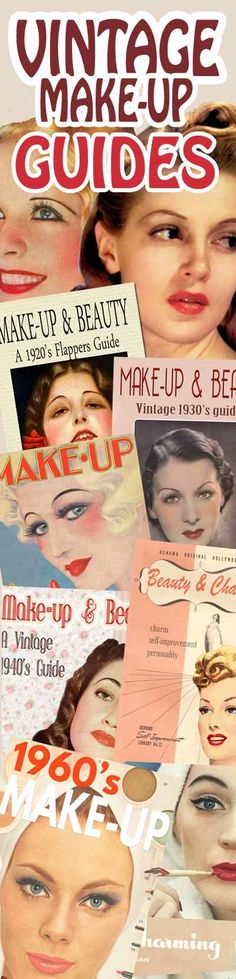 Vintage 1940's Beauty Secrets – Hair and Face Contour. | Glamourdaze