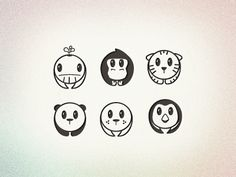 Endangered Animals Pictograms by Tyler Somers
