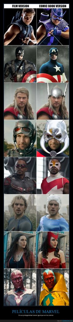 The real reason Marvel changed how the Avengers looked - from brightly-colored comic book glory to living and breathing characters Super Hero shirts, Gadgets & Accessories, Marvel Dc Comics, Marvel Jokes, Marvel Avengers, Funny Marvel Memes, Bd Comics, Avengers Memes, Marvel Heroes, Captain Marvel, Vision Avengers