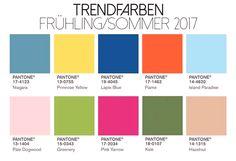 Spring & summer fashion 2017 is so beautiful! Colour Schemes, Color Trends, Color Patterns, Color Palettes, Pale Dogwood, Pantone 2017 Colour, A Todo Confetti, Web Design Inspiration, Color Inspiration
