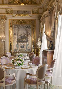 3-star Gastronomic Restaurant Le Louis XV by Alain Ducasse in Hotel de Paris, Monte Carlo