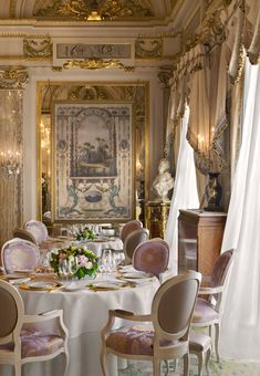 The Louis XV in Monaco, a luxury Michelin 3-star restaurant   Monte-Carlo SBM