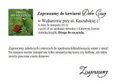 """Spotkanie autorskie w """"Dobre Czasy"""" w Wejherowie <3"""
