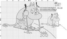 "Photo from album ""Schemi - Natalia/ Схемы - Natalia"" on Yandex. Cross Stitch For Kids, Cross Stitch Baby, Cross Stitch Alphabet, Cross Stitch Charts, Cross Stitch Designs, Cross Stitch Patterns, Knitting Charts, Knitting Patterns, Stitch Movie"
