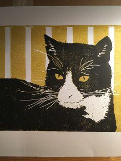 Tommy Linocut Prints, Batman, Superhero, Fictional Characters, Art, Art Background, Kunst, Gcse Art, Art Education Resources
