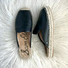 sports shoes 46c82 acb58 Black Mules Espadrilles, Systrar