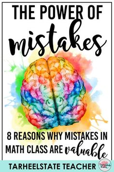 Mathematical Mistakes and Misconceptions can be a valuable teaching tool when we learn to look at them that way! Find out 8 Reasons why Mistakes and conceptual misunderstandings are Valuable in Math Class; if you are interested in encouraging a growth mindset in math, creating a climate where students are comfortable with math talk, and who have a healthy relationship with admitting mistakes, this post is for you! #growthmindset #teaching #upperelementarymath #4thgrade #5thgrade #becomingmath