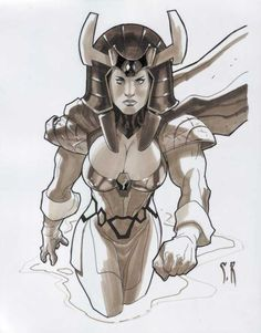 Big Barda by Stephane Roux
