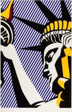 Roy Lichtenstein - I Love Liberty (1982)