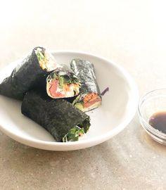 Smoked Salmon Nori W